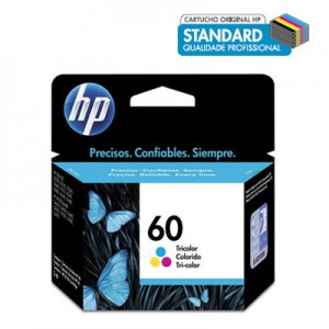 Cartucho HP 60 color CC643WB