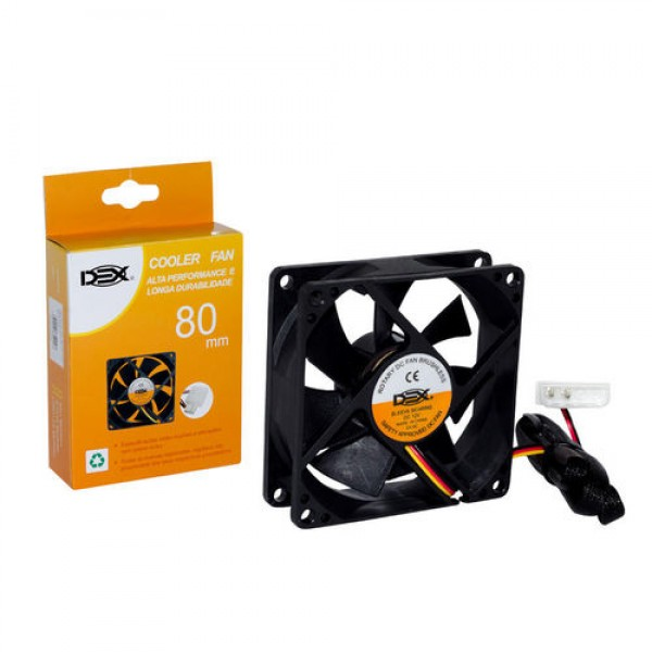 COOLER DEX FAN UNIVERSAL 80MM 12V DX-8C