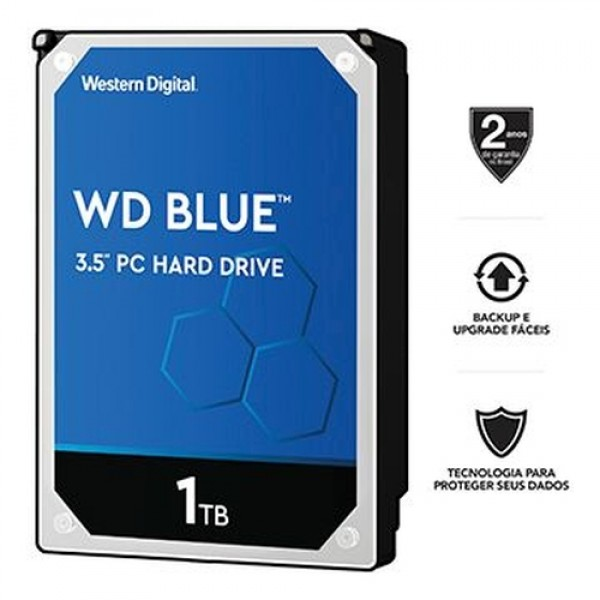 HDD WESTERN DIGITAL 1TB SATA 6.0GB/S WD10EZEX 64MB 7200 RPM -
