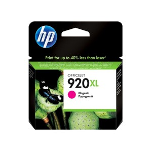 Cartucho HP 920XL Magenta CD973AL