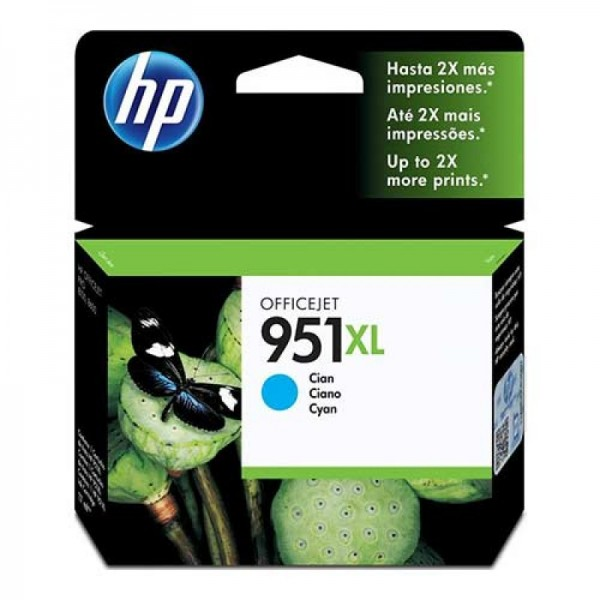 Cartucho HP 951XL Ciano CN046AB