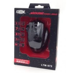 MOUSE GAMER DEX USB 3200DPI LTM-972