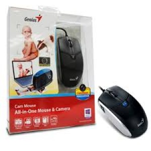 MOUSE GENIUS USB COM CAMERA BLUEEYE 1200DPI CAMERA 2.0 - HD 31010169101