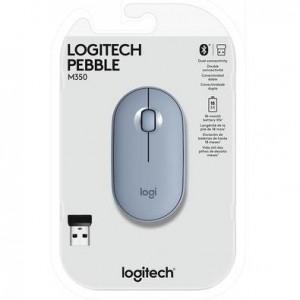 MOUSE LOGITECH PEBBLE AZUL - M350 - 910-005773