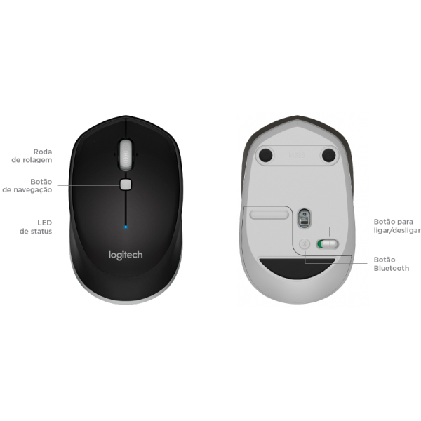 MOUSE LOGITECH BLUTOOTH  M535