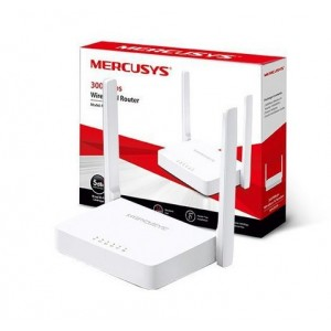 ROTEADOR MERCUSYS MW301R, WIRELESS, 300MBPS, 2 ANTENAS