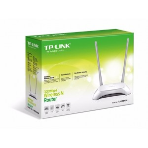 ROTEADOR TP-LINK TL-WR840N 300MBPS 2.4GHZ DUAS ANTENAS WIRELESS