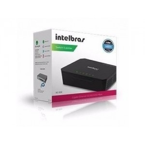 SWITCH INTELBRAS SG500 5 PORTAS GIGABIT ETHERNET