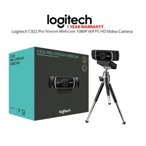 WEBCAM LOGITECH C922 PRO STREAM FULL HD  - 960-001087