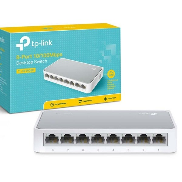SWITCH TP-LINK TL-SF1008D 10/100MBPS 8PORTAS