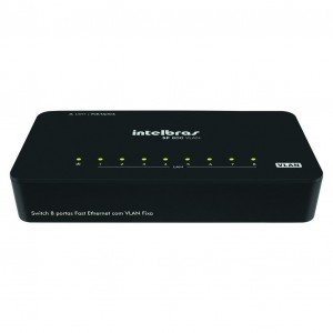 SWITCH INTELBRAS SF 800 VLAN 8 PORTAS FAST ETHERNET